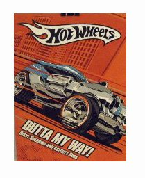 Hot Wheels Coloring and Activity Book ~ Outta My Way! - 1