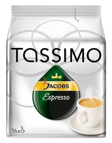 Tassimo Jacobs Espresso, 16 T-Discs