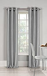 2 Silver Panel 80% Blackout Heavy Thick Grommet Window Curtain Lined Drapes by Curtains, Drapes & Valances