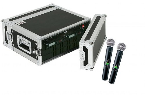 Shure Slx24/Sm58 2-Pack Wireless Handheld Microphone System