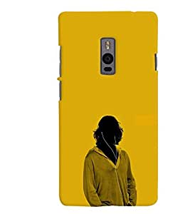 MakeMyCase Play boy case For One Plus Two