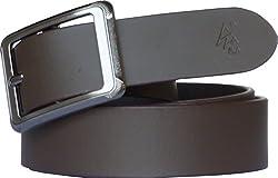 Sondagar Arts Men's Belt (SAB153_Brown_34)