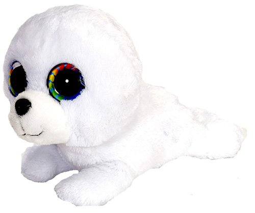 Wild Republic L'Il Sweet & Sassy Baby Seal Coconut Cream Plush