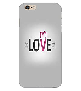 PrintDhaba Quote D-5545 Back Case Cover for APPLE IPHONE 6S PLUS (Multi-Coloured)