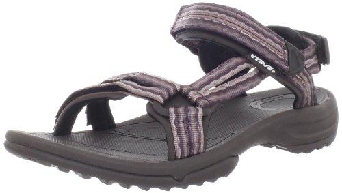 adidas Taedia Vario W G46719 Damen Sandalen, Mehrfarbig (Black 1/Power Purple S12/Super Purple S12), EU 36 2/3 (UK 4)
