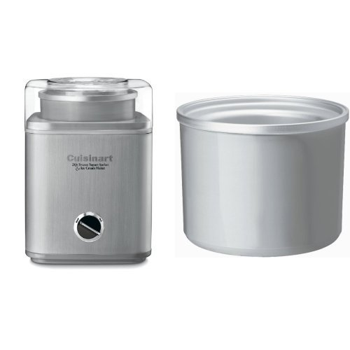 Cuisinart ICE-30BC Ice Cream Maker and Freezer Bowl Bundle
