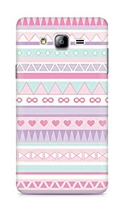 Amez designer printed 3d premium high quality back case cover for Samsung Galaxy ON7 (aztec colourful pattern )