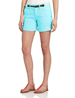 Sanctuary Clothing Women's Liberty Roll Short with Belt, Patina, 28