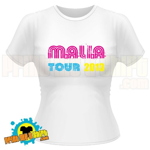 Malia tour 2013 hen t shirt