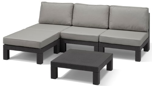 Allibert-Lounge-Set-Nevada-Grau-5-teilig