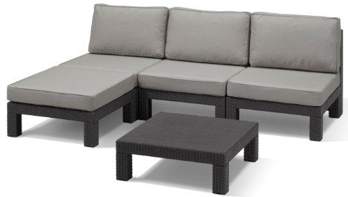 Allibert-Lounge-Set-Nevada-Grau-5-teilig
