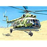 1 72 MIL Mi-8T Soviet Helicopter Model Kit Union armored military flying vertolet Russian... by Zvezda