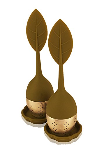 Check Out This Butler in the Home Tea Butler 2 Pack Loose Leaf Tea Infuser Steeper Strainer Filter S...