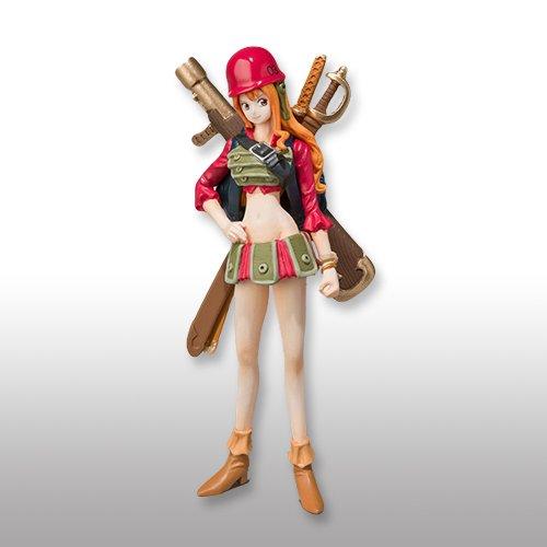 ONEPIECE One Piece Super Modeling Soul The Movie - Decisive Battle for combat uniform - Nami separately figure Bandai