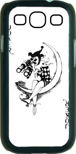 Joker Playing Card - Joker With Binoculars - Hard Black Snap On Plastic Case - For The Samsung® Galaxy S3 I9300 Case