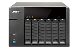 QNAP TS-651 6-Bay Personal Cloud NAS with HDMI output, DLNA, AirPlay and PLEX Support (TS-651-US)