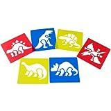 Dinosaur Stencils (Set of 6)