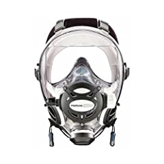 Ocean Reef Neptune Space G.divers Full Face Scuba Dive Mask Cobalt Medium Large by Ocean Reef