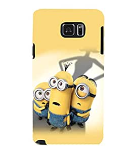 printtech Minions Back Case Cover for Samsung Galaxy Note 5 N920