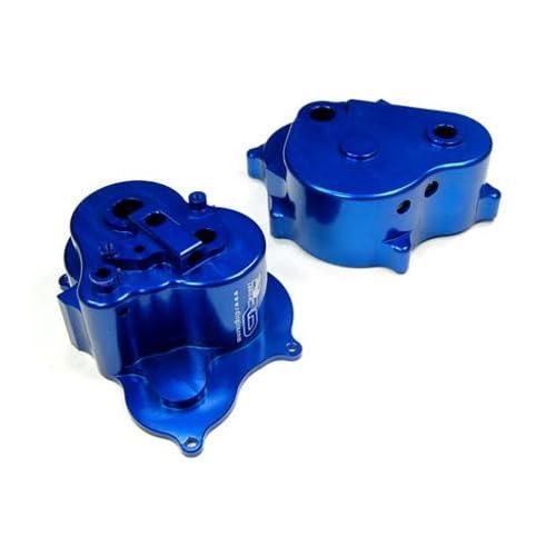 RD Logic Aluminum Transmission Case, Blue T Maxx 2.5