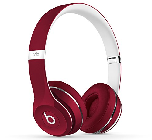 Beats by Dr. Dre Solo2 Cuffie On-Ear Luxe Edition, Rosso