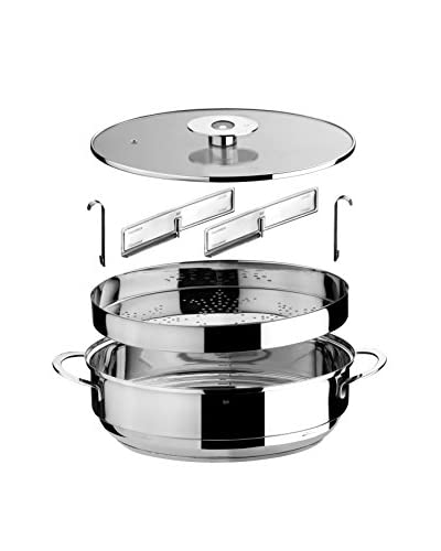 Mepra Oval Casserole & Steamer Set