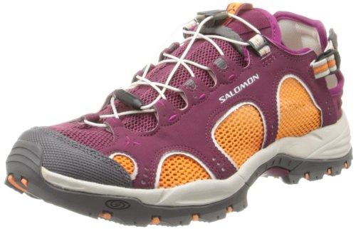 Salomon Techamphibian 3 Women Outdoor Schuhe bordeaux-orange feeling-mystic purple - 38