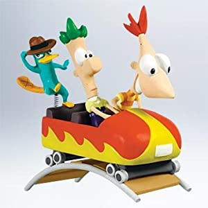 #!Cheap 2011 Hallmark Phineas and Ferb Keepsake Ornament QXD1677 - QXD1677