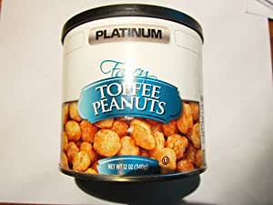 Toffee Peanuts PLATINUM 12 OZ Gourmet Can