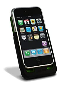 mophie juice pack case and rechargeable battery for iPhone 1G (Black)