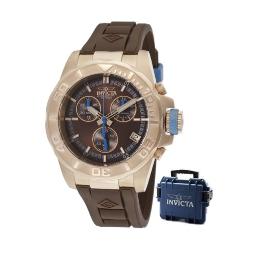 Invicta Men's 12157 Pro-Diver Chronograph Brown
