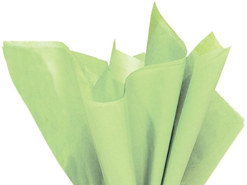 "100 Sheets - Brand New Pistachio Green Bulk Tissue Paper 15"" X 20"" back-568589"
