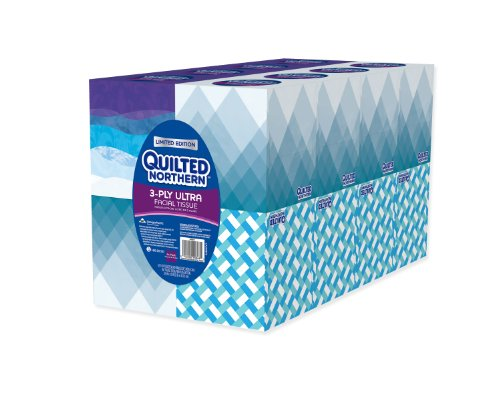 Quilted Northern Ultra Facial Tissue Cube (16 Boxes) (Tissue Box Upright compare prices)