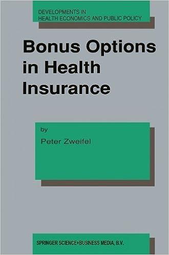 Bonus Options In Health Insurance (Developments In Health ...