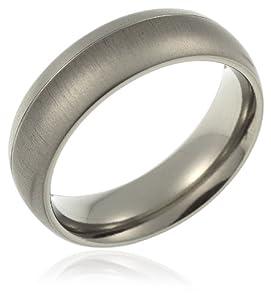 CORE by Schumann Design Unisex-Ring aus Titan ohne Stein Gr. 60 (19.1) TT046.01 60