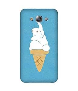 Bunny Ice Cream Samsung Galaxy E7 Case