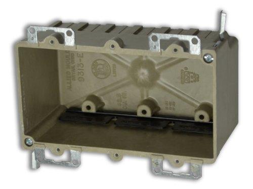 Allied Moulded 9313=Ewk Three Gang Fiberglass Box