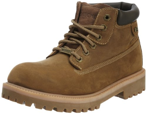Skechers Mens Sergeants - Verdict Chelsea Boots 4442 DSCH/Brown 8 UK, 42 EU