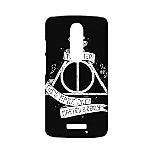 BLUEDIO Designer Printed Back case cover for Motorola Moto X3 (3rd Generation) - G0899