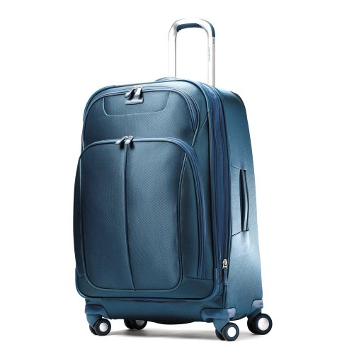Samsonite Luggage Hyperspace Spinner 26 Expandable Suitcase, Totally Teal, One Size reviews