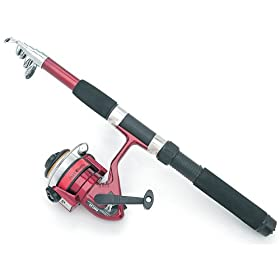 Trailworthy Telescopic Rod and Reel Set