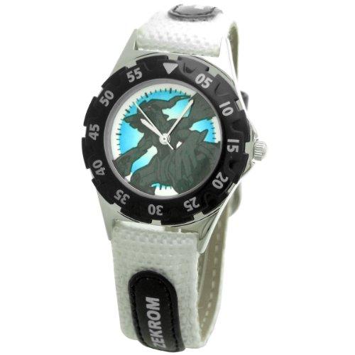[ポケットモンスター]Poket Monster 腕時計 アロイダイバーウォッチ ホワイト PM10153 ボーイズ