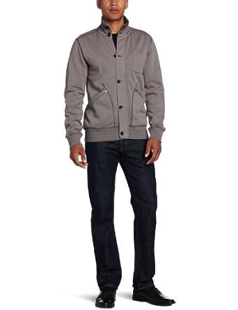 (跳水)Calvin Klein Jeans Men's Wheat Terry Jacket 卡文克莱型男夹克外套 $65.99
