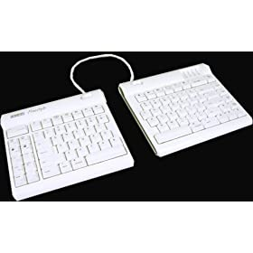 Kinesis Ergonomics Mac Keyboard, Freestyle solo USB, White
