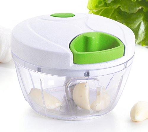 Kuuk Eminceur/Hâchoir/Blender à nourriture manuel pour Fruits, Légumes etc.