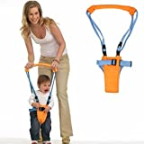 Starnill Teach Baby to Walk - Moonwalker (Baby Walker Walk Assistant is fully Adjustable) Walk with baby device includes safety straps and adjustable baby toddler harness. (Walk Baby Moonwalk Version 2010)