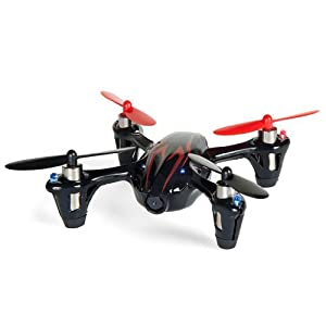 Hubsan X4 H107C 2.4G 4CH RC Quadcopter With Camera RTF - Black/Red from Hubsan