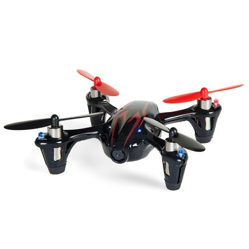Hubsan X4 H107C 2.4G 4CH RC Quadcopter With Camera RTF - Black/Red