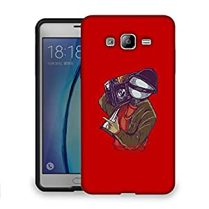 Snoogg Music Man Designer Protective Back Case Cover For SAMSUNG ON 7