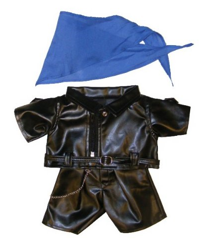 Biker Outfit Teddy Bear Clothes Fits Most 14